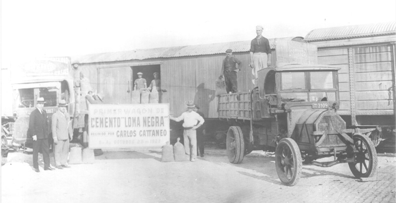 First cement delivery