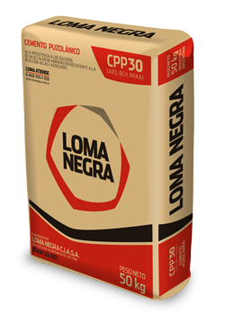 Cement Puzolánico CPP30 (ARS, BCH, RRAA) Loma Negra